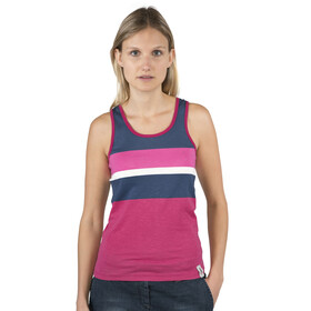 Chillaz Active Tanky Stripes Women berry multicolor